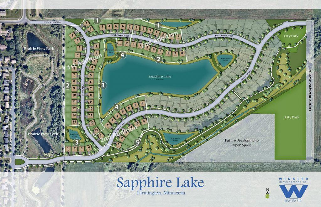 Homes in Farmington MN at Sapphire Lake